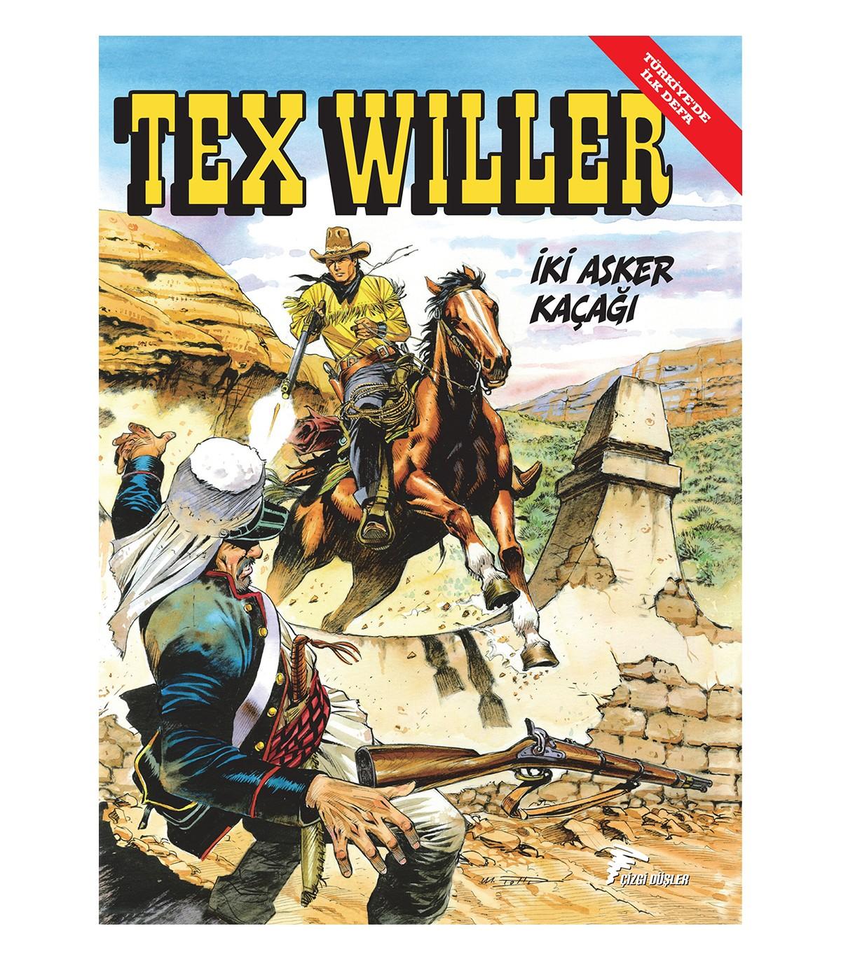Tex Willer 3 - İki Asker Kaçağı