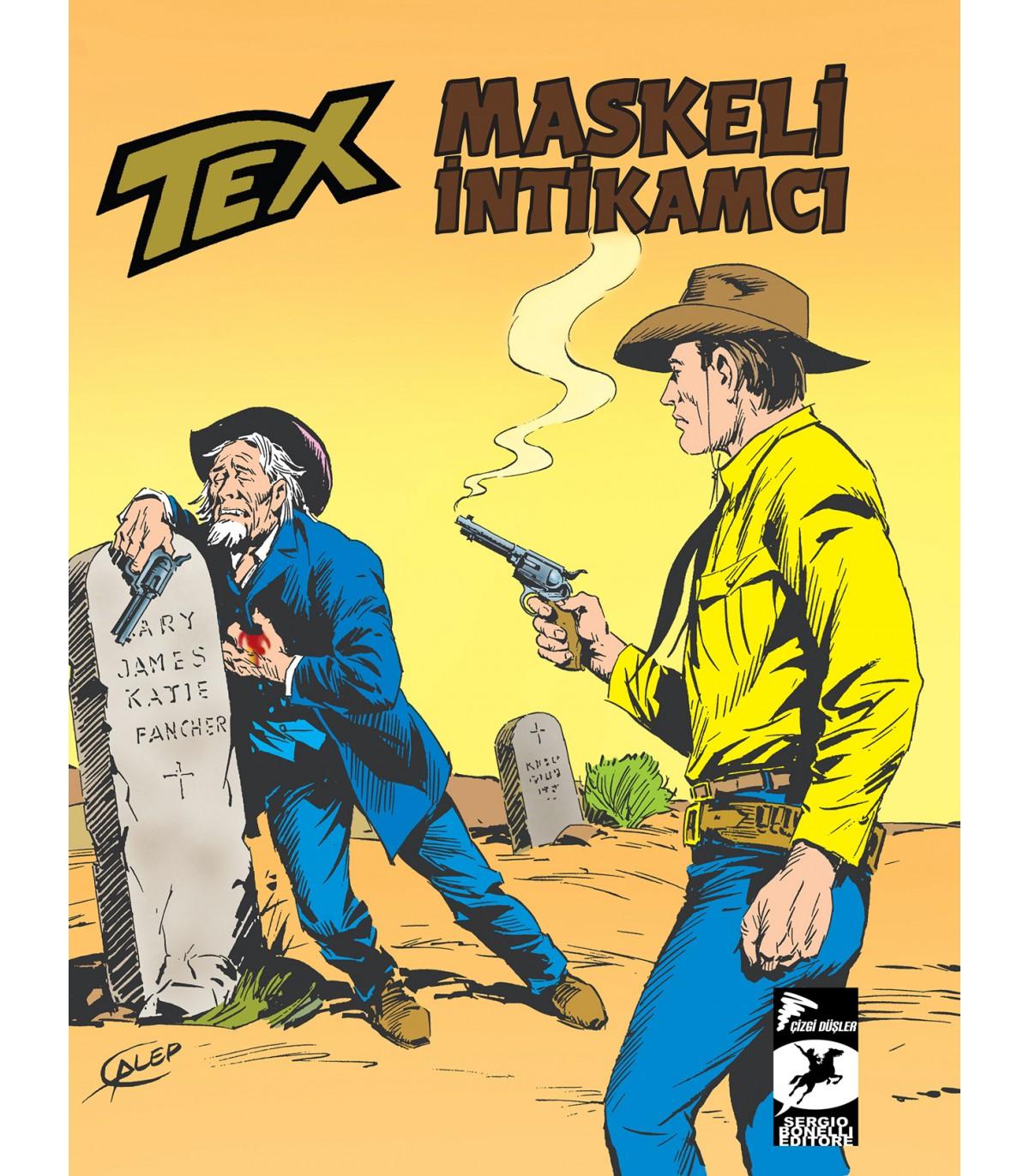 Tex Klasik Seri 55 - Maskeli İntikamcı