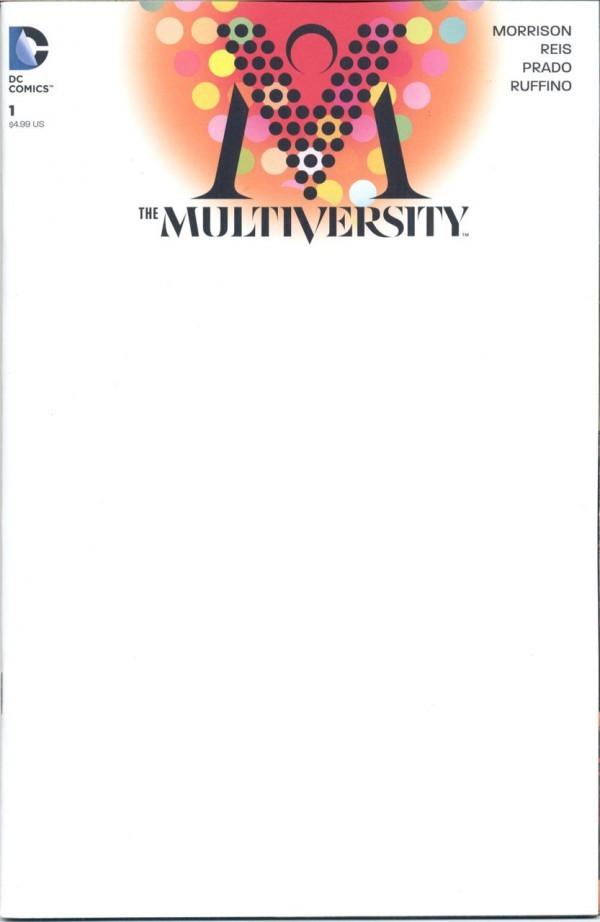 THE MULTIVERSITY #1 BLANK VARIANT