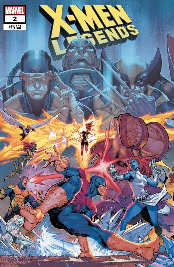X-MEN LEGENDS #1-2 CONNECTING VARIANT SET