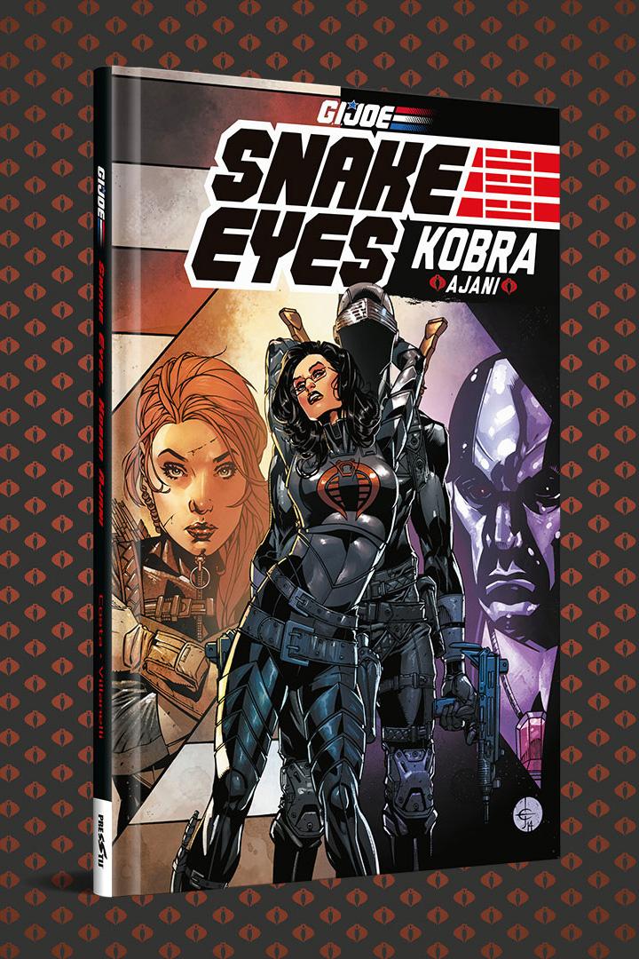 Snake Eyes: Kobra Ajanı - Sert Kapak Özel Edisyon - (250 Limitli, Numaralı)
