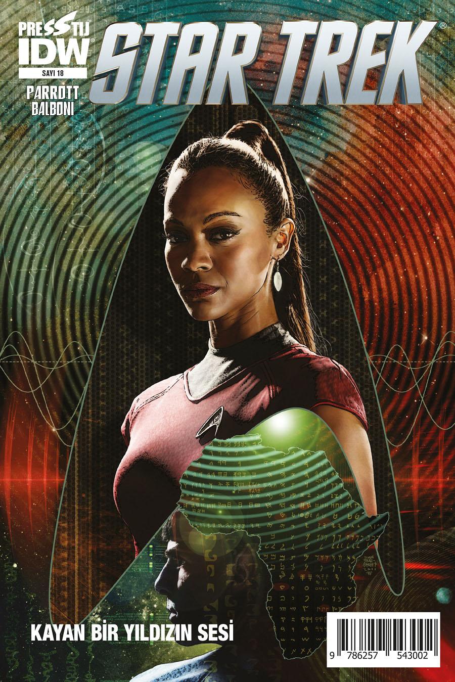 Star Trek Sayı 18: Kayan Bir Yıldızın Sesi