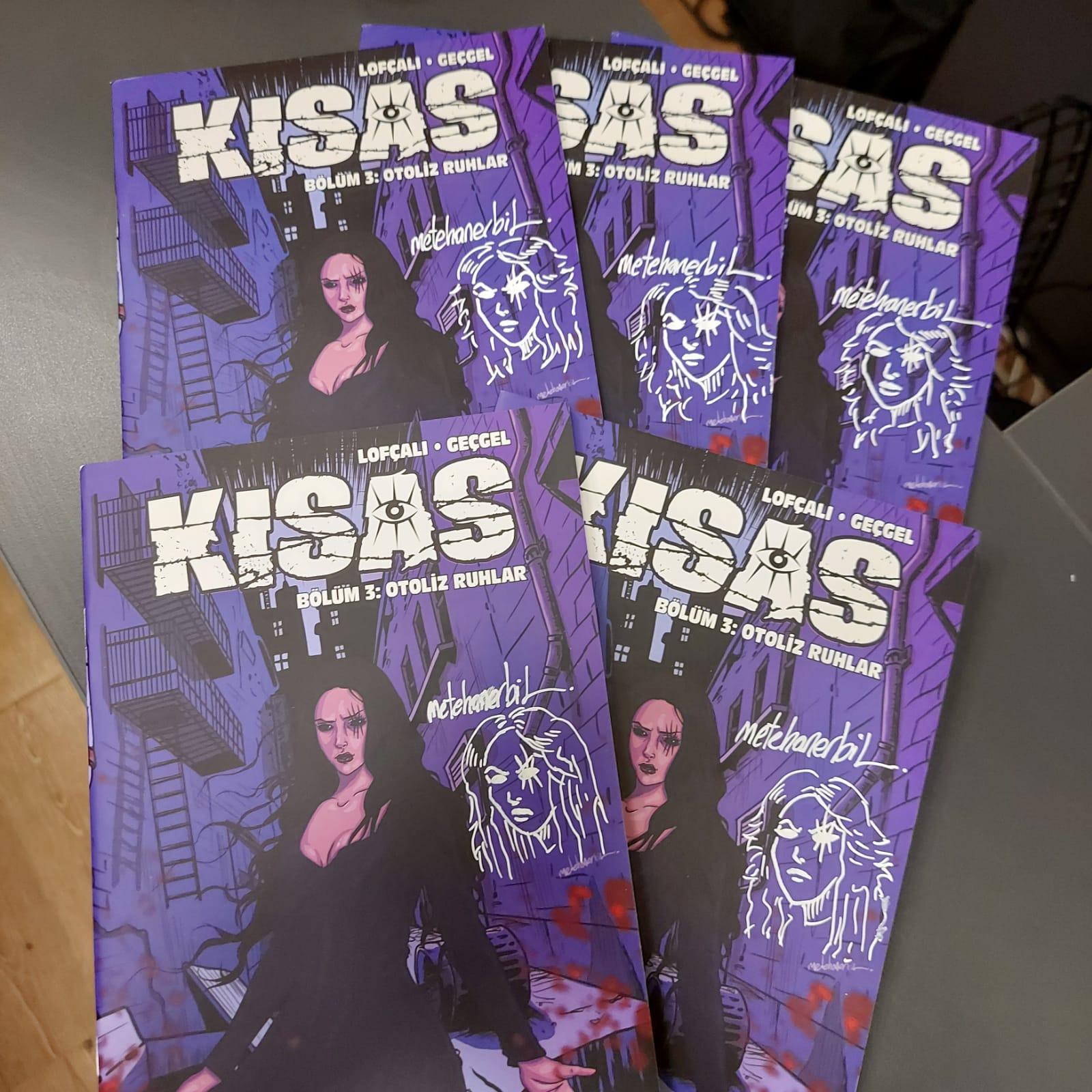 KISAS - Bölüm 3: Otoliz Ruhlar - Presstij Dükkan Variantı (METEHAN ERBİL REMARKLI)