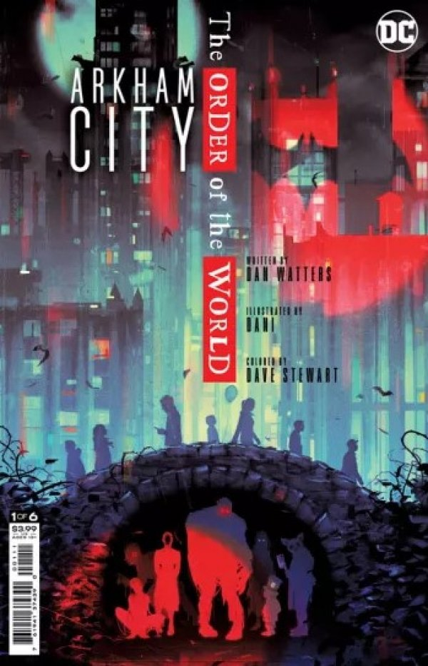 ARKHAM CITY THE ORDER OF THE WORLD #1 (OF 6) - ÖN SİPARİŞ KAPORA ÖDEMESİ
