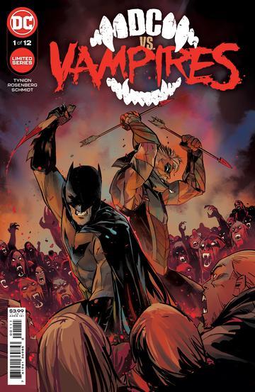 DC VS VAMPIRES #1 (OF 12) - ÖN SİPARİŞ KAPORA ÖDEMESİ