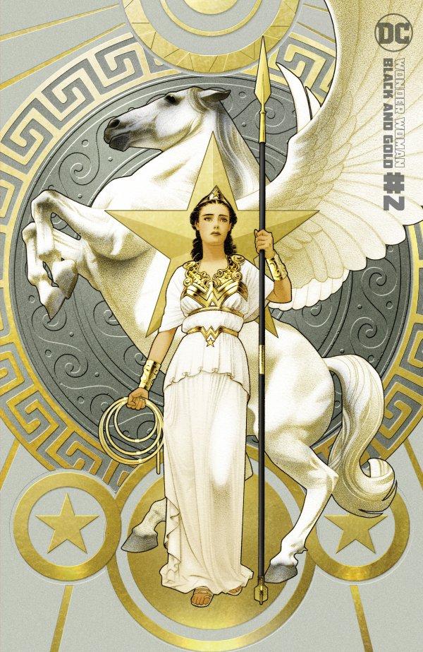 WONDER WOMAN BLACK & GOLD #2 (OF 6) COVER B JOSHUA MIDDLETON VARIANT