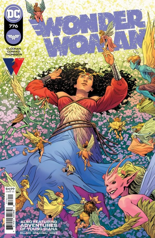 WONDER WOMAN #776 COVER A TRAVIS MOORE
