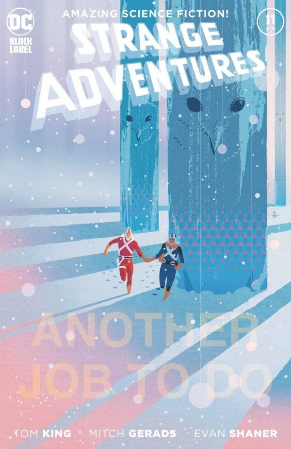STRANGE ADVENTURES #11 (OF 12) COVER B EVAN DOC SHANER VARIANT