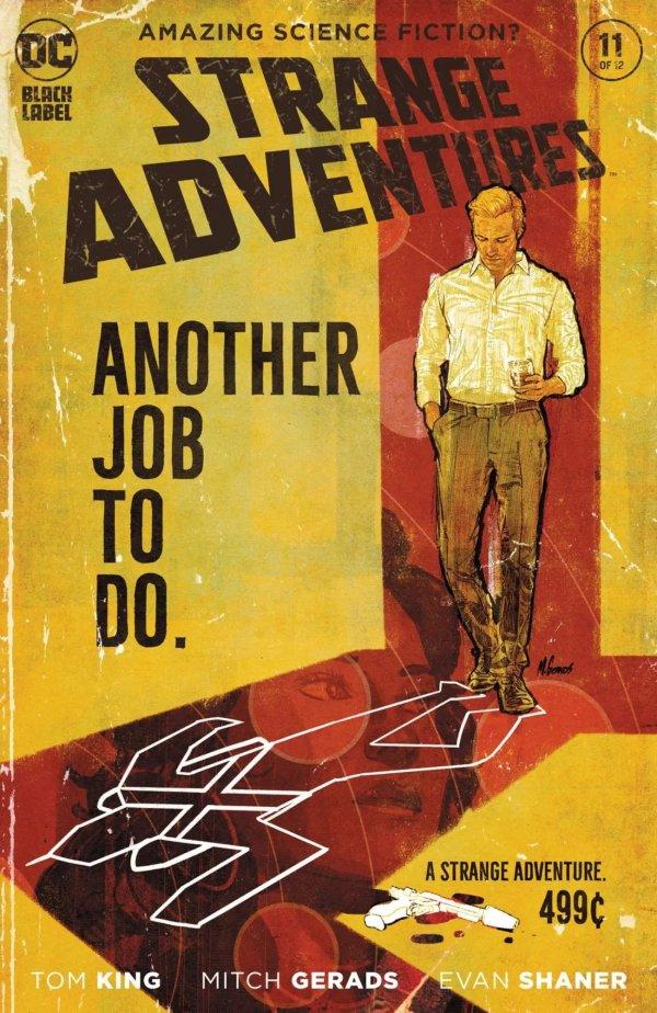 STRANGE ADVENTURES #11 (OF 12) COVER A MITCH GERADS