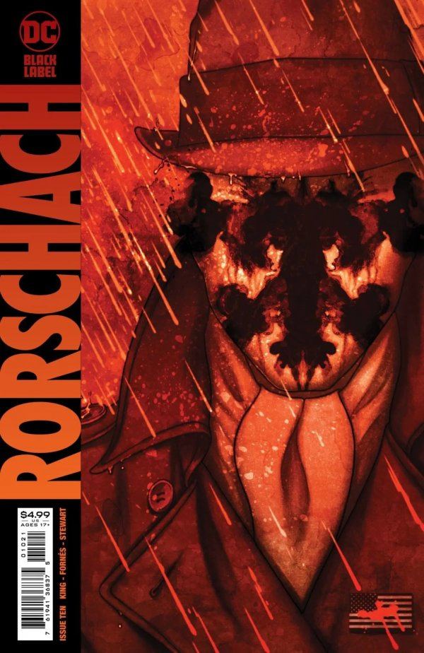 RORSCHACH #10 (OF 12) COVER B JENNY FRISON VARIANT