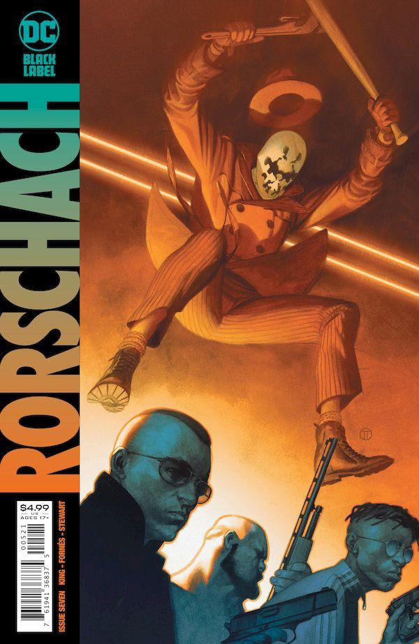 RORSCHACH #7 (OF 12) COVER B JULIAN TOTINO TEDESCO VARIANT