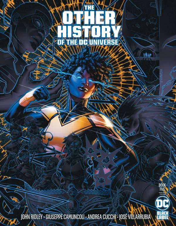 OTHER HISTORY OF THE DC UNIVERSE #5 (OF 5) COVER B JAMAL CAMPBELL VARIANT