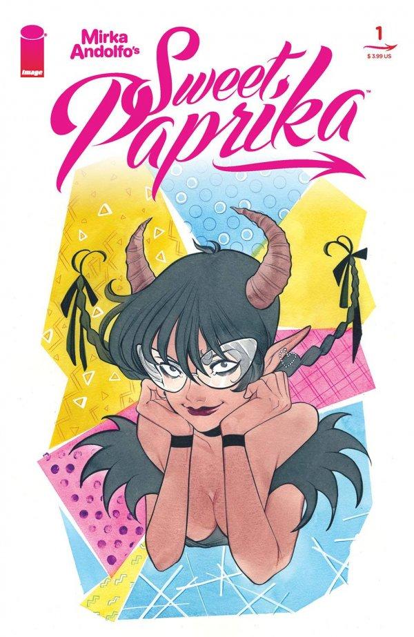 MIRKA ANDOLFO SWEET PAPRIKA #1 COVER C MOMOKO
