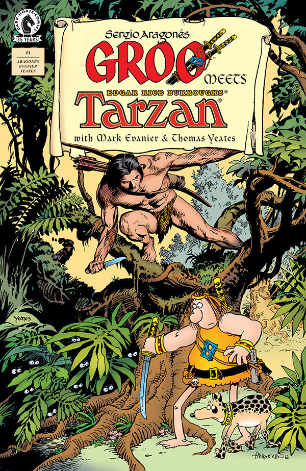 GROO MEETS TARZAN #1 (OF 4)