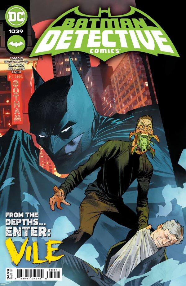 DETECTIVE COMICS #1039 COVER A DAN MORA