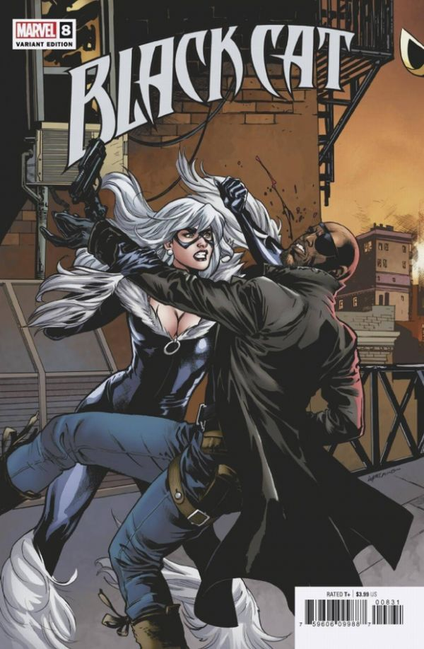 BLACK CAT #8 LUPACCHINO CONNECTING VARIANT