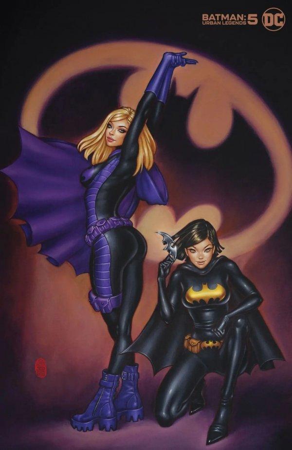 BATMAN URBAN LEGENDS #5 COVER C MIMI YOON VARIANT