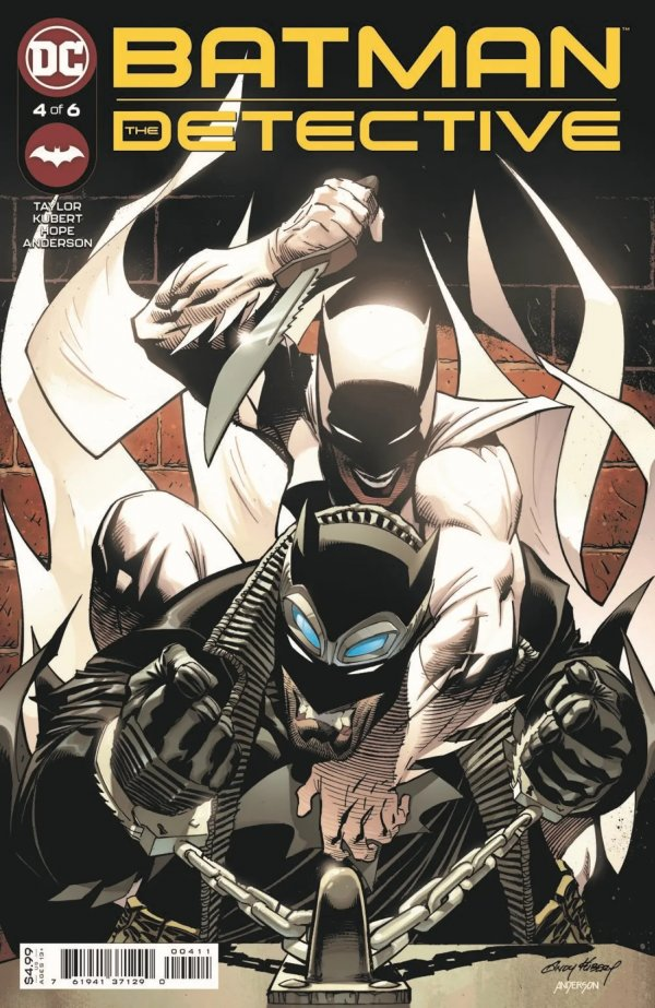 BATMAN THE DETECTIVE #4 (OF 6) COVER A ANDY KUBERT