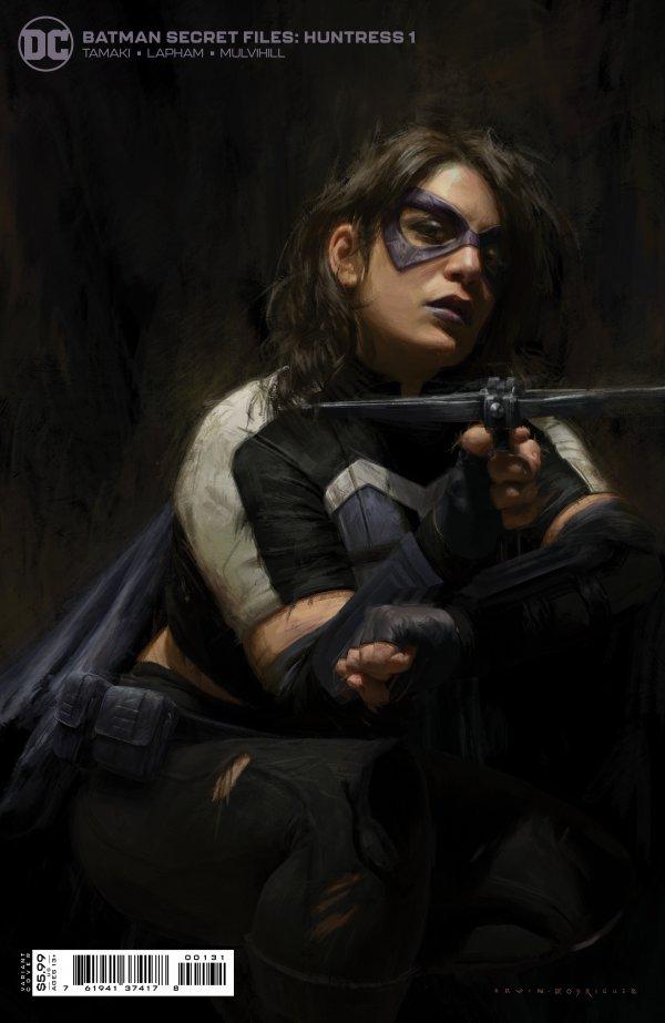 BATMAN SECRET FILES HUNTRESS #1 (ONE SHOT) INC 1:25 TK TK CARD STOCK VARIANT