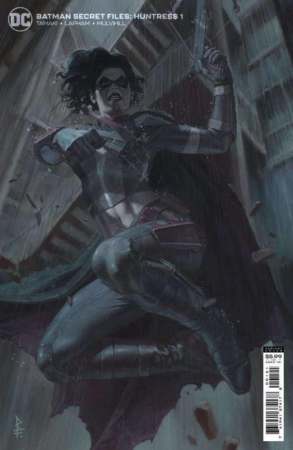 BATMAN SECRET FILES HUNTRESS #1 (ONE SHOT) COVER B RICCARDO FEDERICI CARD STOCK VARIANT