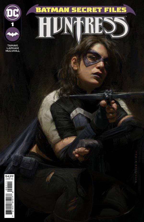 BATMAN SECRET FILES HUNTRESS #1 (ONE SHOT) COVER A IRVIN RODRIGUEZ
