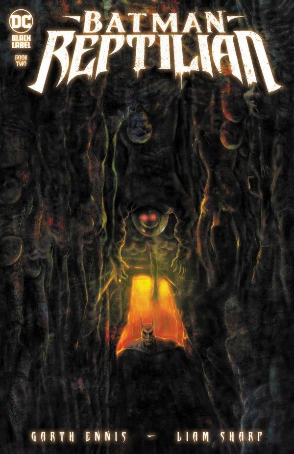 BATMAN REPTILIAN #2 (OF 6) COVER A LIAM SHARP