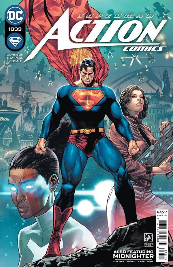ACTION COMICS #1033 COVER A DANIEL SAMPERE