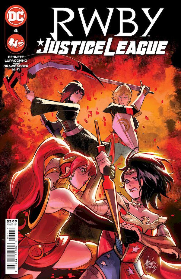 RWBY JUSTICE LEAGUE #4 (OF 7) COVER A MIRKA ANDOLFO
