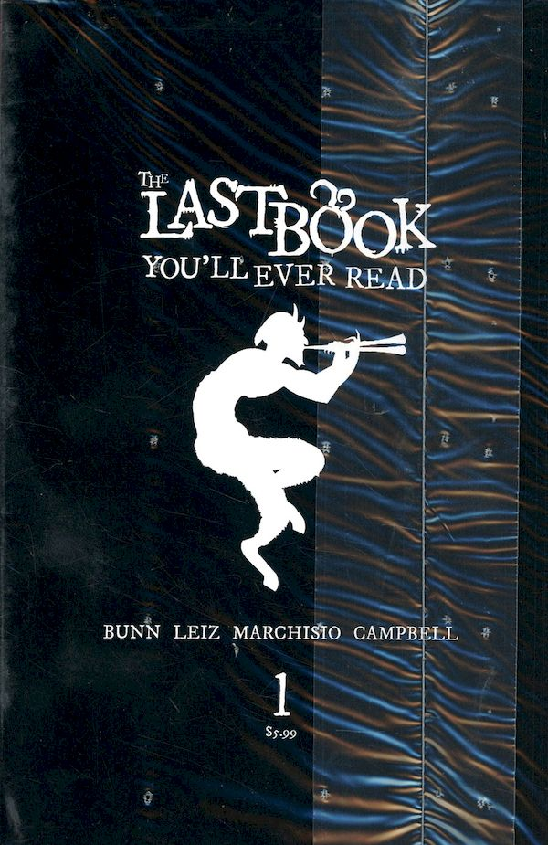 LAST BOOK YOULL EVER READ #1 COVER C BLACK BAG COVER