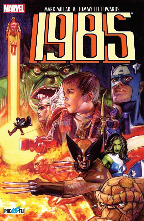 Marvel 1985 Sert Kapak Özel Edisyon (250 Limitli, Numaralı) - ÖN SİPARİŞ
