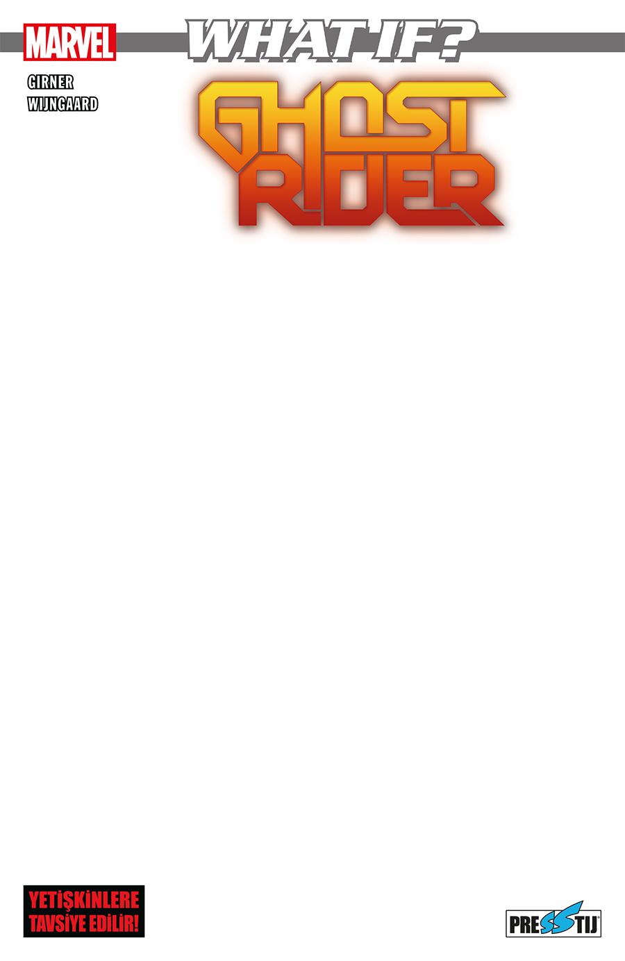 What If? Marvel Ghost Rider İle Metalciliğe Soyunursa (Boş Kapak) - ÖN SİPARİŞ