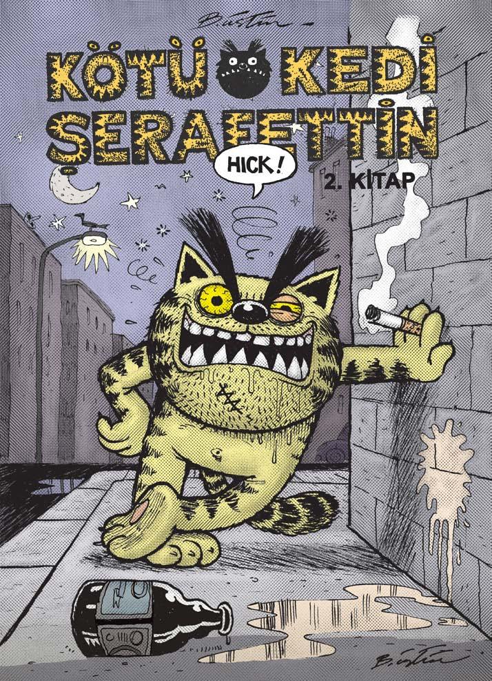 Kötü Kedi Şerafettin 2.Kitap