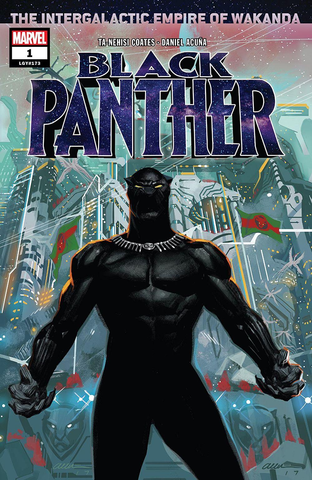 BLACK PANTHER #1 - #4 SET