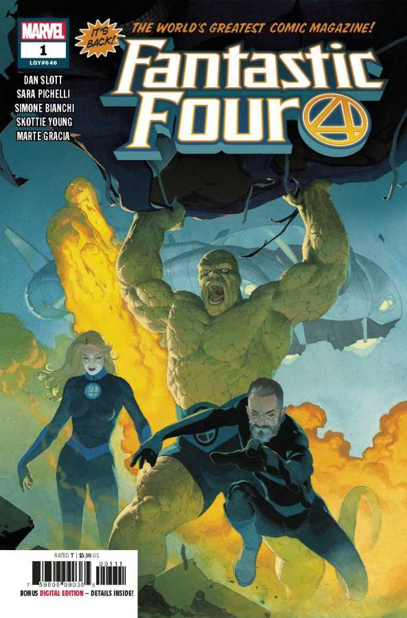 FANTASTIC FOUR #1 - #5 SET