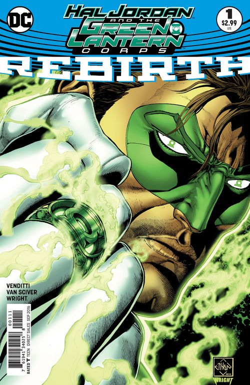 HAL JORDAN AND THE GREEN LANTERN CORPS #1 SET