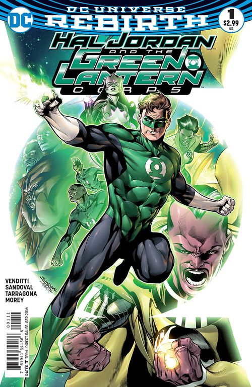 HAL JORDAN AND THE GREEN LANTERN CORPS #1 - #4 SET - 1