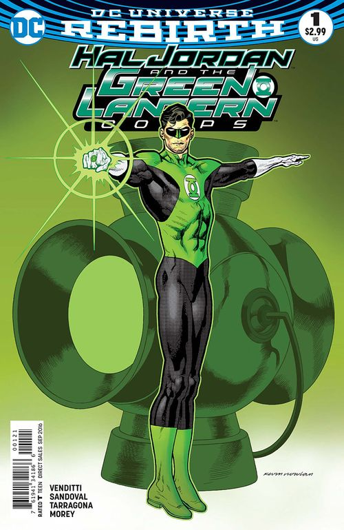 HAL JORDAN AND THE GREEN LANTERN CORPS #1 - #4 SET - 2