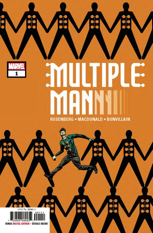 MULTIPLE MAN #1 - #3 SET