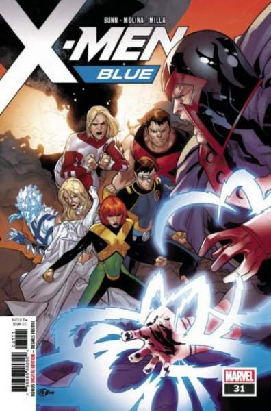 X-MEN BLUE #31 - #36 SET