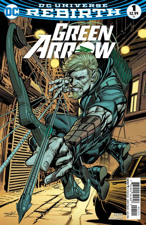 GREEN ARROW REBIRTH #1 - #5 VARIANT SET
