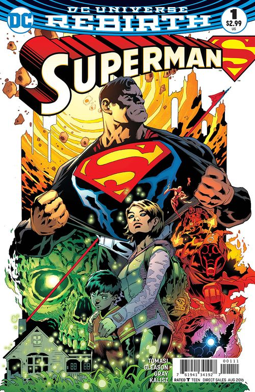 SUPERMAN REBIRTH #1 - #3 SET