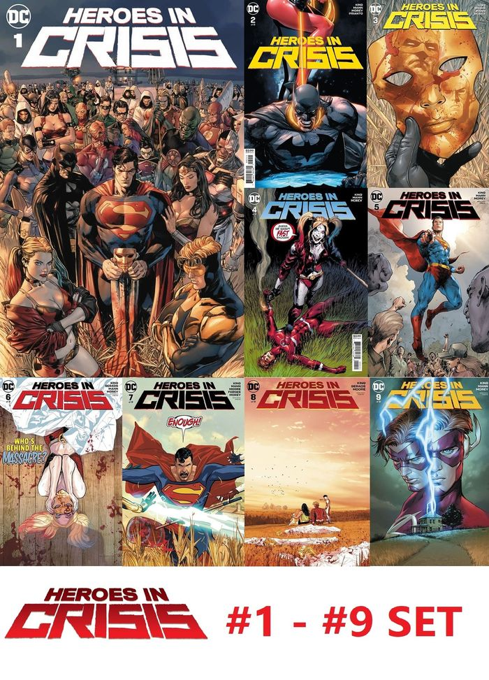 HEROES IN CRISIS #1 - 9 (OF 9) REGULAR SET
