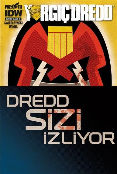 Yargıç Dredd 10: Kapak B
