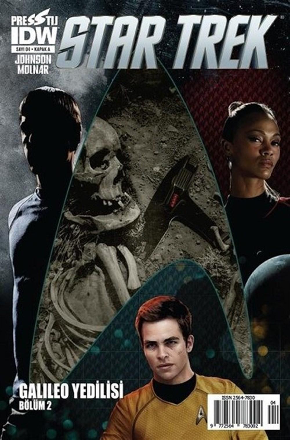 Star Trek 4 - Kapak A