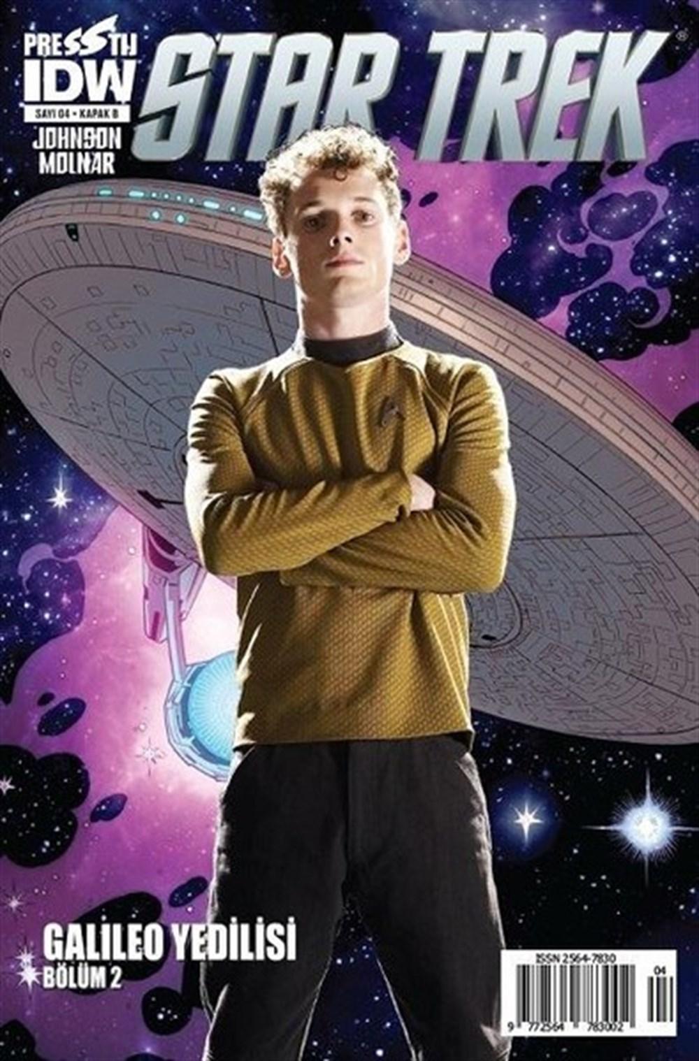 Star Trek 4 - Kapak B