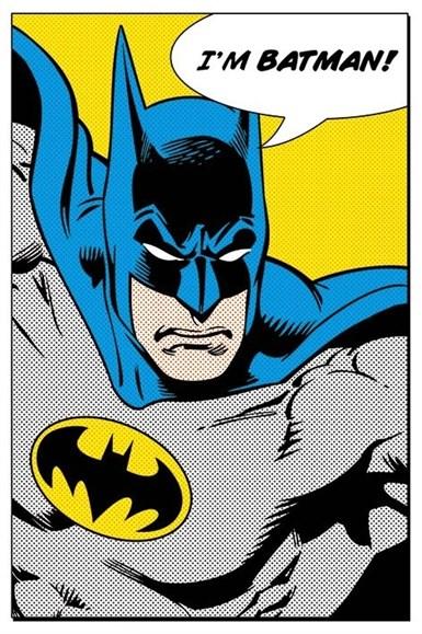 Maxi Poster Batman I'm Batman