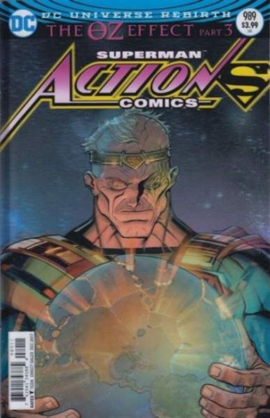 ACTION COMICS #989 LENTICULAR VARIANT
