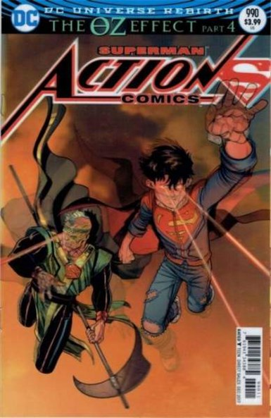 ACTION COMICS #990 LENTICULAR VARIANT