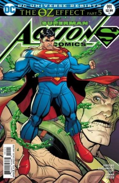 ACTION COMICS #991 LENTICULAR VARIANT