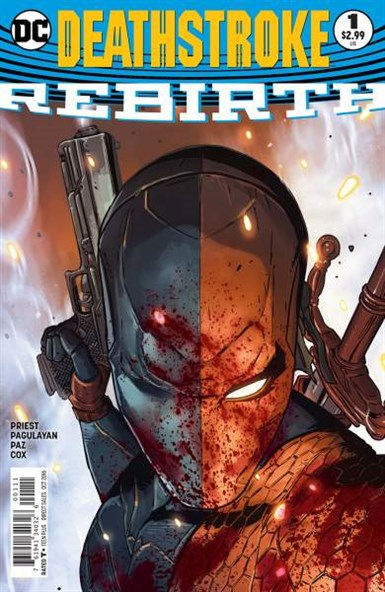 DEATHSTROKE REBIRTH #1 ONE SHOT